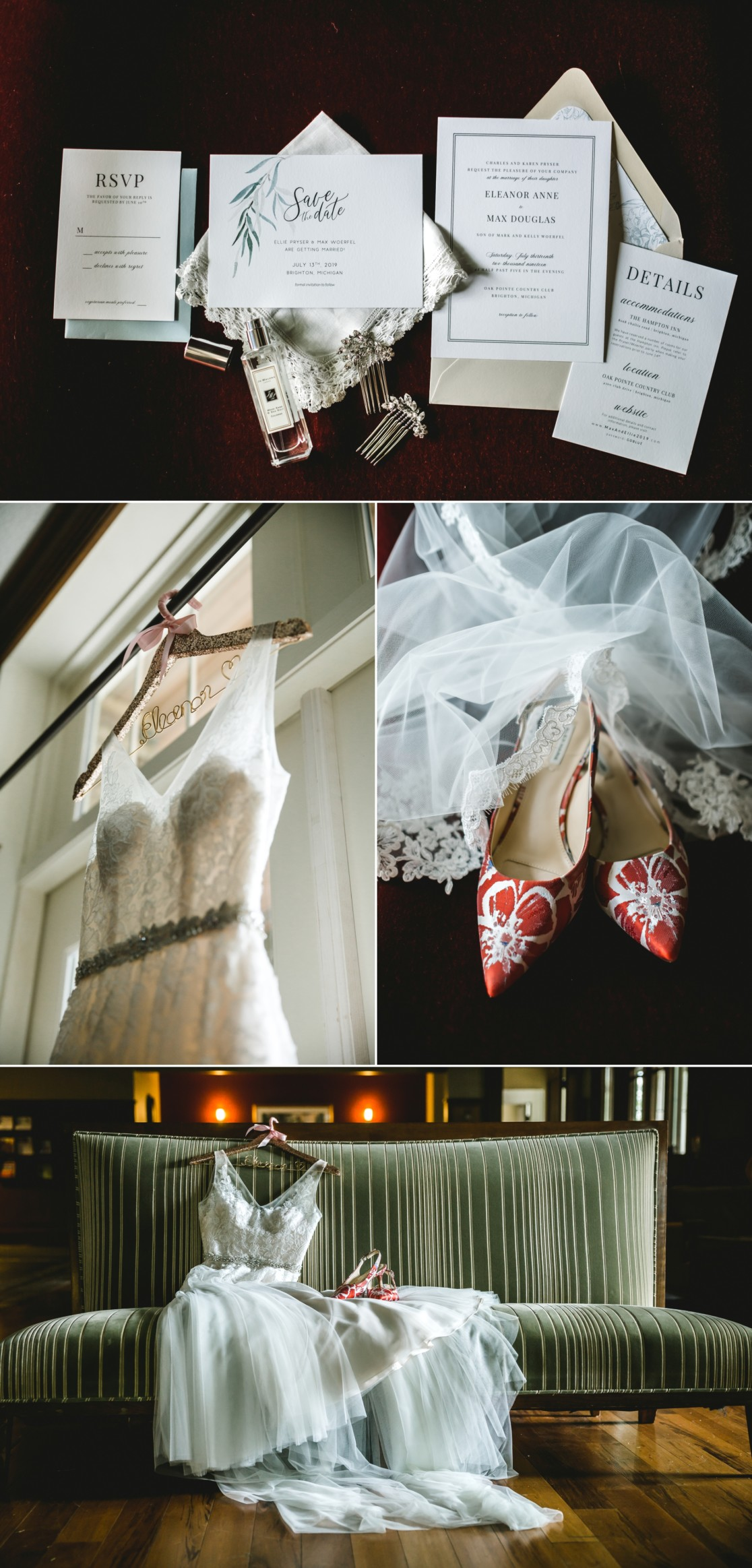 Oak Pointe Wedding Photography Brighton Michigan